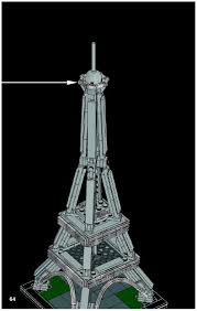 lego the eiffel tower instructions 21019 architecture