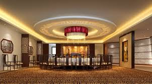 luxury ceiling droplight chinese restaurant interior ceiling