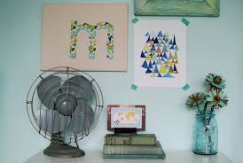Diy Paintings For Home Decor Stylish Monogrammed Wall Decor