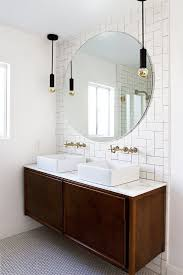 White Bathroom Cabinets by Best 25 Round Bathroom Mirror Ideas On Pinterest Minimal