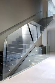 Glass Stair Rail by 371 Best Stairs Images On Pinterest Stairs Glass Stairs And