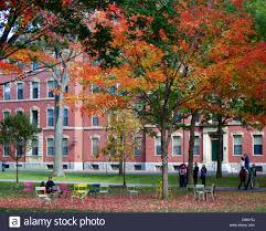 Harvard Campus Map Harvard Yard Old Heart Of Harvard University Campus On A