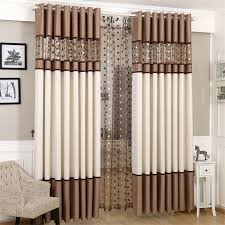 Window Curtains Living Room by Luxury Stitching Embroidery Yarns Blackout Curtains Bedroom