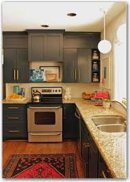 how to make cabinets appear taller www tphblog kitchen soffit redo kitchen cabinets