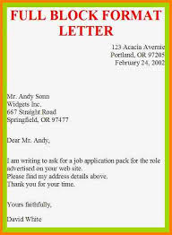 block style cover letter sample college paper helper