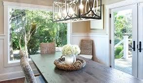Rectangle Dining Room Light Rectangular Dining Room Light Chatel Co