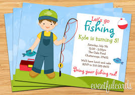 fishing birthday invitations fishing birthday invitations with