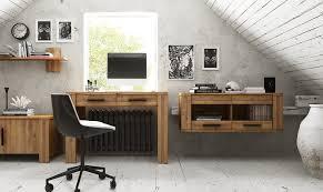 bureau massif moderne bureau en chene massif moderne cubic
