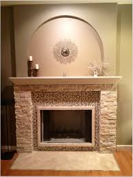 interesting white fireplace mantel design inspiration with candles