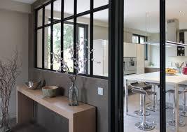 verriere interieur cuisine verrière atelier bois ou métal
