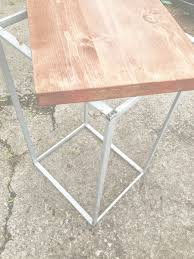 Side Table Ikea by Side Table Ikea Hack From Waste Bin Diy Home Pinterest