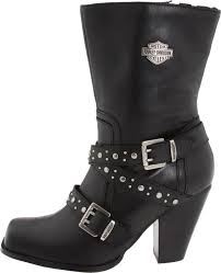 harley motorcycle boots women motorcyclist brenda fox