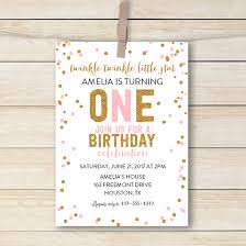 twinkle twinkle birthday editable birthday invitation twinkle twinkle pdf