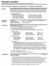 Sample Resume For Experienced Software Tester by Software Engineer Resume Template Software Resume Examples