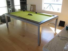dining pool table to turn this pool table into a dining table or