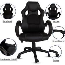 Reclining Office Chair With Footrest Reclining Office Chair Ebay