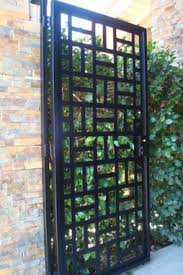 Front Yard Metal Fences - buy a hand crafted state of the art metal gate walk thru front