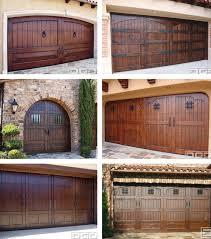 garage doors garage doors painted to look like wood faux