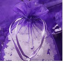 large organza bags large organza bags 10 purple 8 x 12 inch sheer