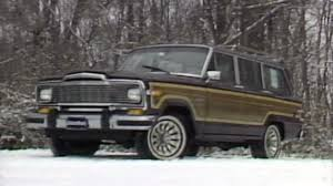 classic jeep wagoneer 1983 jeep grand wagoneer review times have changed