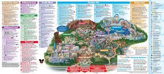 Orlando Parks Map by Theme Park Maps Theme Park Investigator