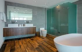 modern shower stall base wooden plank house design and office