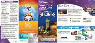 Maps Of Disney World by Brand New Map Of Disney Springs Released U2013 Disneydining