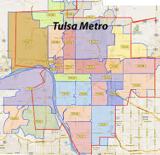 Map Of Phoenix Zip Codes by Tulsa Zip Codes Map Zip Code Map