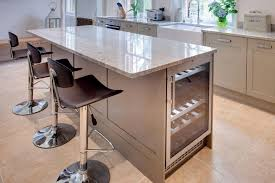 kitchen islands with breakfast bar kitchen island with wine fridge search home