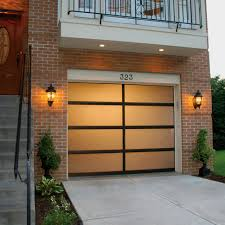 full view aluminum garage doors garage living