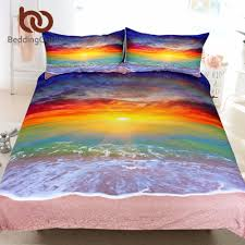 Beach Bedspread Online Get Cheap Beach Bedding Set Aliexpress Com Alibaba Group