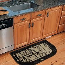 Flooring Nice Wood Kitchen Cabinet Design Ideas With Walmart Rugs