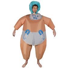 Big Baby Halloween Costume Amazon Inflatable Baby Costume Toys U0026 Games