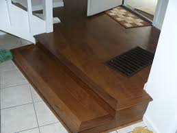 stunning brown teak patterns vinyl plank flooring in stairs areas