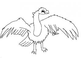 vulture coloring pages coloring