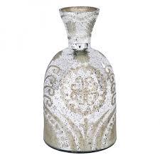 Cheap Glass Vase Decorating Exquisite Mercury Glass Vase For Unique Table
