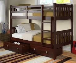 Captains Bunk Beds Manhattan Mission Bunk Bed Bed Frames Donco Trading