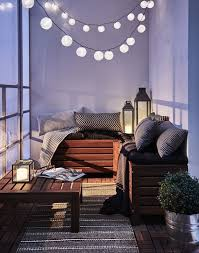 Patio Floor Lights by Best 25 Balcony Lighting Ideas On Pinterest Outdoor House