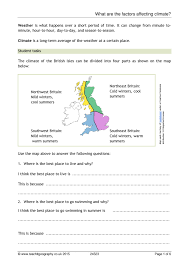 ks3 biomes climate zones teachit geography