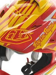 motocross helmet designs troy lee designs red yellow 2013 se3 cyclops mx helmet troy lee