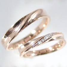 wedding rings malta ma38 rakuten global market wedding rings ピンクゴールドペア