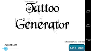 tattoo design generator pro android apps on google play