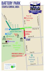 Map Of Boston Marathon Course by Course Map Vermont City Marathon