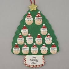 a family tree of 13 personalized ornament calliope designs