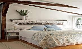 rustic chic bedroom ideas mantle headboard rustic shutter