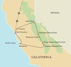california map national parks uk alumni association the great parks of california