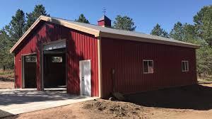 Garages That Look Like Barns Easy 40x42 Metal Building Garage Diy Steel Building Kit Review