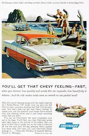 chevy biscayne 4 door sedan 1958 vintage car ad road trip