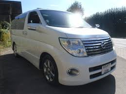 nissan van 2007 second hand nissan elgrand highway star model for sale in