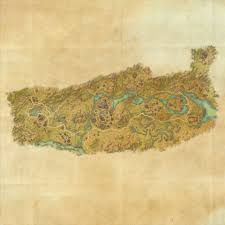 Glenumbra Treasure Map Tes Online Map Of Deshaan